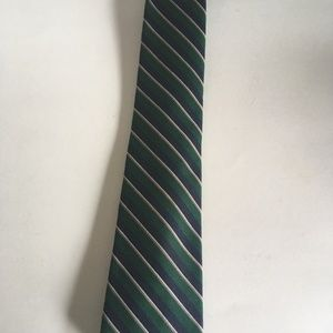 Givenchy Accessories - Givenchy Gentlemen Paris Green Blue Necktie